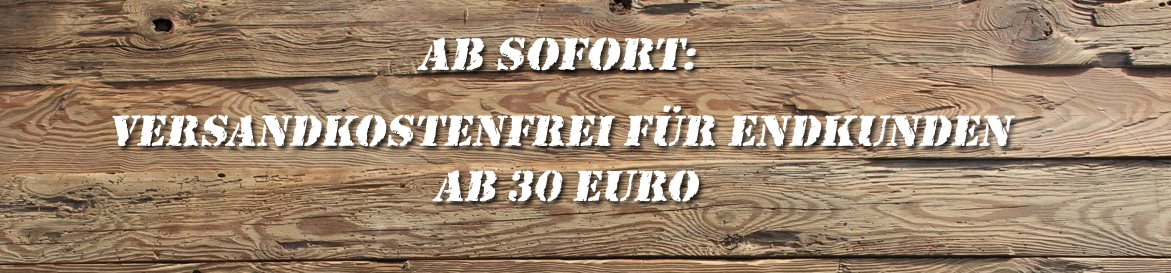 Versandkostenfrei ab € 30,-